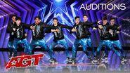 Teen Dance Crew Brings The It Factor! Xtreme Dance Force Breaks It Down - America's Got Talent 2020