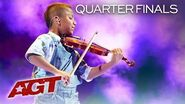 """11-Year-Old Tyler Butler-Figueroa WOWS With """"Don't You Worry Child"""" - America's Got Talent 2019"""