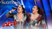 "Talented Twins Double Dragon Perform ""It's Raining Men"" With Pizzazz! - America's Got Talent 2020"