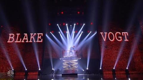 America's Got Talent 2016 Semi-Finals Magician Blake Vogt S11E18