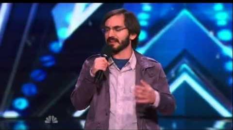 America's Got Talent 2015 Myq Kaplan Auditions 6