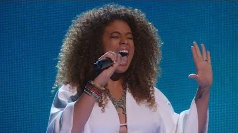 America's Got Talent 2015 S10E15 Live Shows - Samantha Johnson Powerhouse Singer