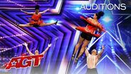 BAD Salsa from India Delivers Dance Unlike ANYTHING You've Seen! - America's Got Talent 2020-1