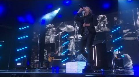 America's Got Talent 2015 S10E17 Live Shows - 3 Shades of Blue Rock Band