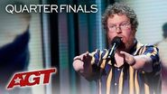 HILARIOUS Comedian Ryan Niemiller Will Make You Laugh With These Jokes! - America's Got Talent 2019