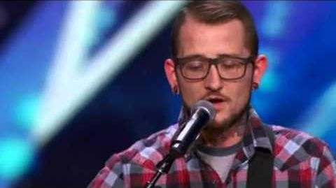 America's Got Talent 2015 Most Emotional Performance Johnny Shelton Auditions 1