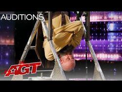 Matt Johnson Attempts Dangerous Act for the FIRST TIME on AGT - America's Got Talent 2021