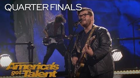 Noah Guthrie Musician Brings The House Down With Original Song - America's Got Talent 2018
