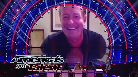 Piers Morgan Returns to AGT to Chat with the Judges - America's Got Talent 2014