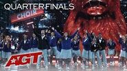 """WOW! Detroit Youth Choir Sings An EMOTIONAL Cover Of """"The Champion"""" - America's Got Talent 2019"""