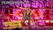 """Hans Performs The ICONIC """"Let's Get Loud"""" By Jennifer Lopez - America's Got Talent The Champions"""