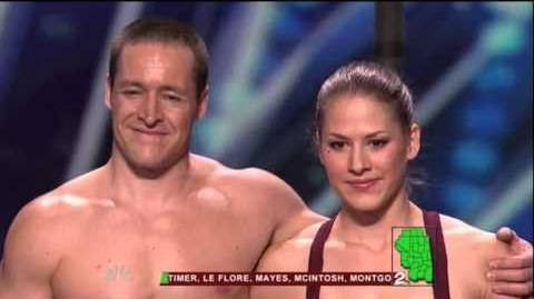 America's Got Talent 2015 The Human Flags Auditions 7
