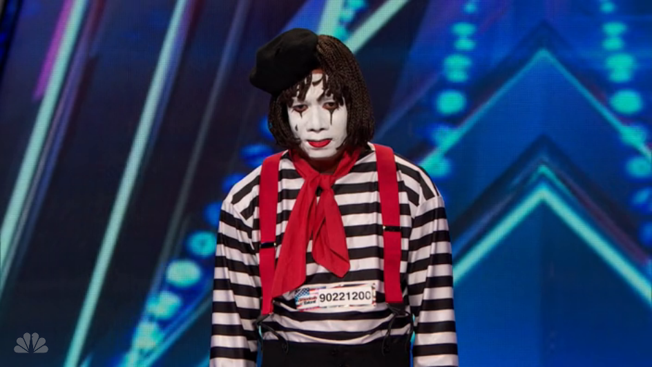 Larry the Mime