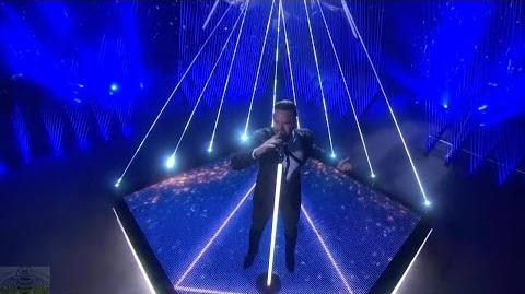 America's Got Talent 2016 Singer Brian Justin Crum Live Shows Round 3 S11E16