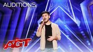 """This Singer Might Surprise You With """"Let's Get It On"""" - America's Got Talent 2020"""