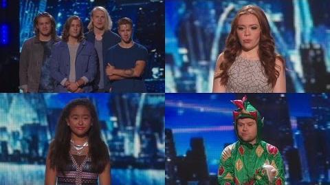 America's Got Talent 2015 S10E24 Semi-Finals Round 2 Results 1