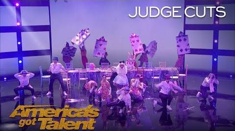 PAC Dance Team High School Dance Team Delivers Awesome Performance - America's Got Talent 2018