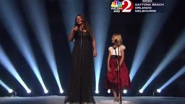 """Jackie Evancho & Sarah Brightman """"Time to Say Goodbye"""" on America's Got Talent FINALE-0"""
