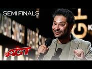 Kabir Singh Describes HILARIOUS Moments From His Dating Life - America's Got Talent 2021