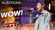 "Teen Singer Benicio Bryant Shines With ""The Joke"" By Brandi Carlile - America's Got Talent 2019"