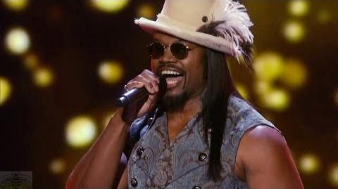 America's Got Talent 2016 RL Bell The Singing Masseur Full Judge Cuts Clip S11E09