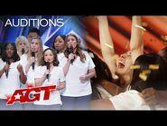 Golden Buzzer- Northwell Health Nurse Choir Gives an Inspiring Audition - America's Got Talent 2021