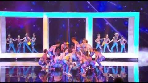 Innovative Force - America's Got Talent 2013 Season 8 - The Semi-Finals FULL