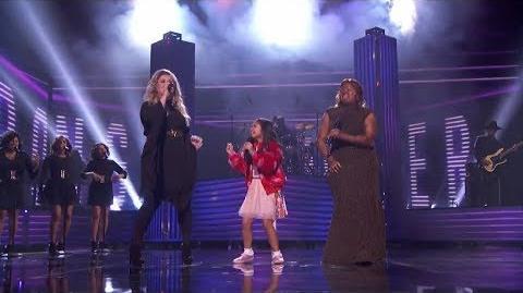 America's Got Talent 2017 Finale Kechi & Angelica Hale Special Performance Full Clip S12E24