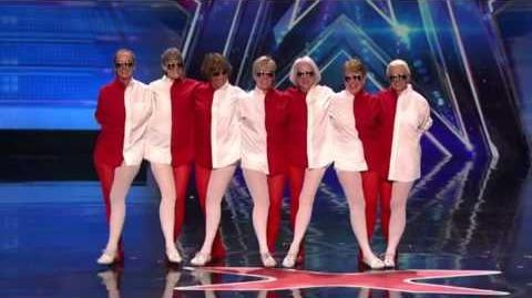 America's Got Talent 2015 Lake City Lakettes Auditions 5