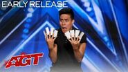 Magician Consumed By Cards?! Winston Performs Incredible Card Tricks - America's Got Talent 2020