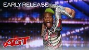 OMG! Frenchie Babyy's Dance Moves SHOCK The Judges! - America's Got Talent 2020