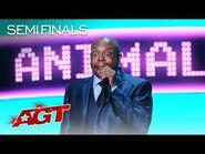 Michael Winslow Surprises The Crowd With Mind-Blowing Voicetramentalism - America's Got Talent 2021