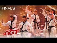 World Taekwondo Demonstration Team Delivers an INCREDIBLE Performance - America's Got Talent 2021