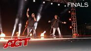 """Broken Roots Perform an AWESOME Cover of """"In The Air Tonight"""" - America's Got Talent 2020"""
