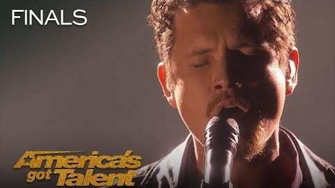 """Michael Ketterer Father Sings Emotional """"Ain't No Mountain High Enough"""" - America's Got Talent 2018"""