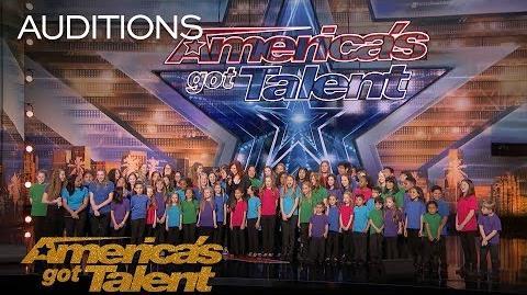 Voices of Hope Children's Choir Children's Choir Sings 'This Is Me' - America's Got Talent 2018