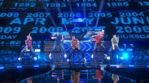 America's Got Talent 2015 S10E19 Live Shows - Daditude Middle Aged Dance Group
