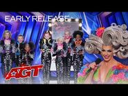Early Release- Beyond Belief Dance Company Surprises The Judges - America's Got Talent 2021