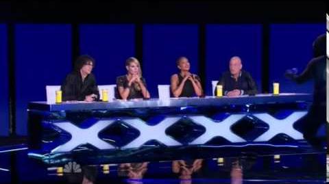 America's Got Talent 2014 Franklin Saint New York Week Day 1