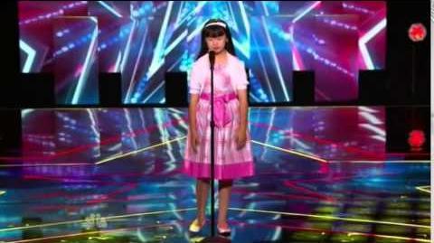 America's Got Talent 2014 Grace Ann Gregorio New York Week Day 1