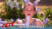 Kenadi Dodds Teen Country Singer Sings HEARTFELT Beautiful Original Song In The Quarterfinals