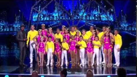 America's Got Talent 2014 Baila Conmigo Semi-Final 2