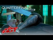 Will He Escape? Matt Johnson Terrifies The Judges - America's Got Talent 2021