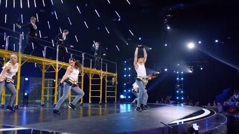 America's Got Talent 2015 S10E10 Judge Cuts - Evoke Tap Movement