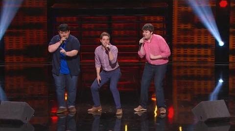 America's Got Talent 2015 S10E10 Judge Cuts - Triple Threat