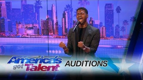 "Johnny Manuel Guy Covers Whitney Houston's ""I Have Nothing"" - America's Got Talent 2017"