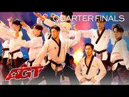 World Taekwondo Demonstration Team SURPRISES The Judges - America's Got Talent 2021