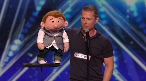 America's Got Talent 2015 S10E03 Paul Zerdin Fantastic Ventriloquist Act