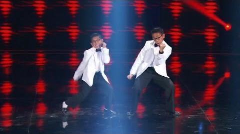 America's Got Talent 2015 S10E13 Judge Cuts - The Gentlemen Dance Duo