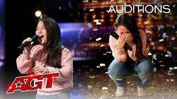 "Golden Buzzer 10-Year-Old Roberta Battaglia Sings Lady Gaga's ""Shallow"" - America's Got Talent 2020"